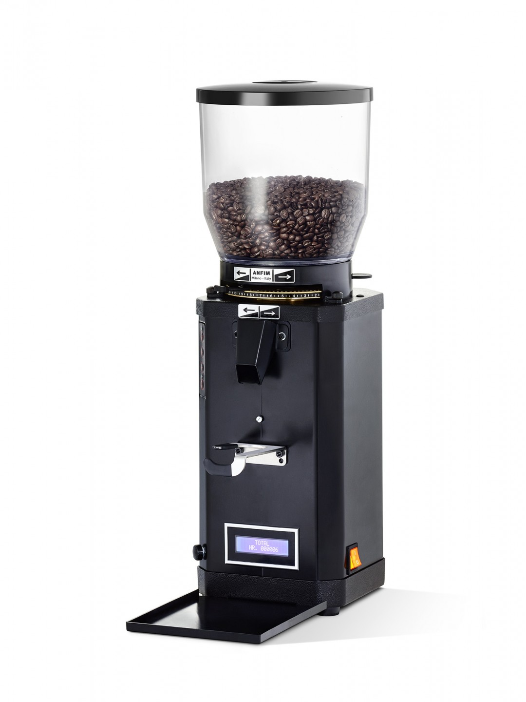 "Coffee grinder - ANFIM ""Super Caimano on demand display"""