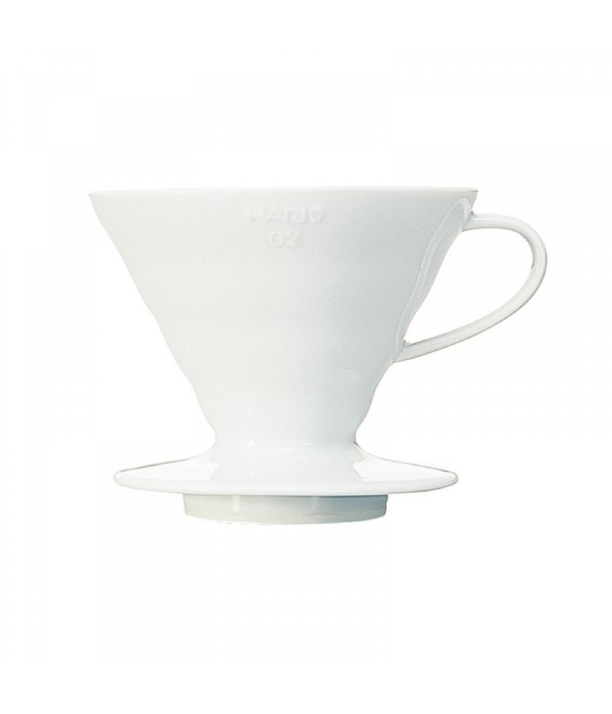 Hario V60 Ceramic Coffee Dripper - 2 cups