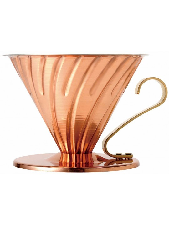 Hario V60 Copper Coffee Dripper - 2 cups