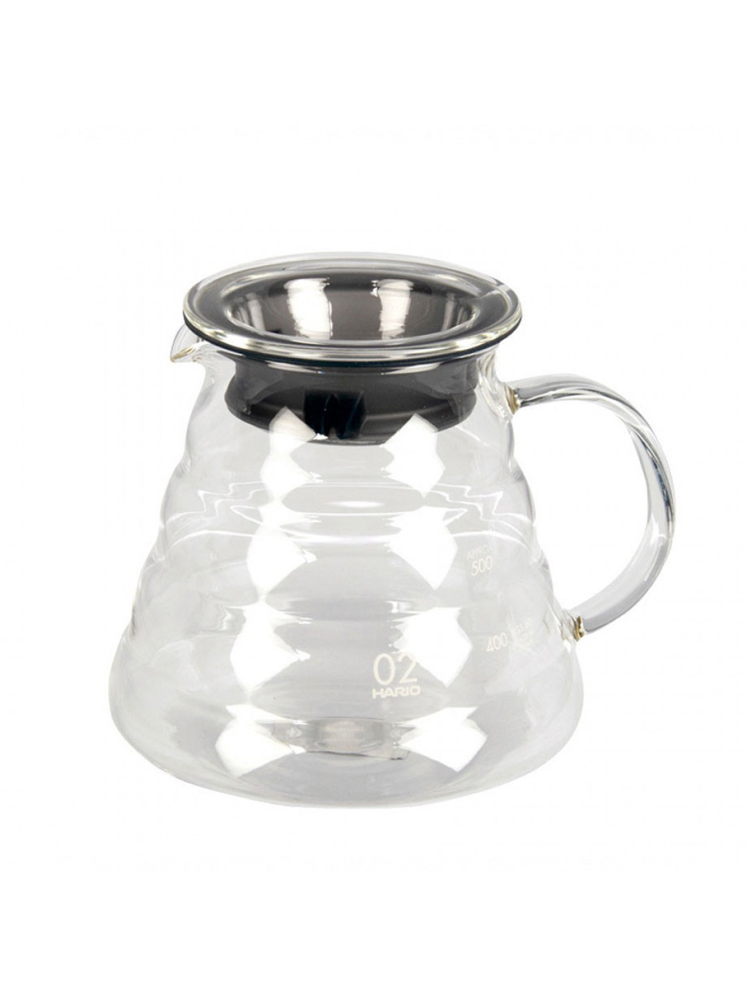 Hario- V60 server glass 600 ml.